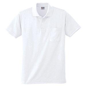 DRY 半袖ポロシャツ 9006 90 ホワイト 6L
