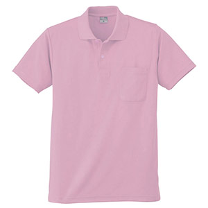 DRY 半袖ポロシャツ 9006 13 ピンク 6L