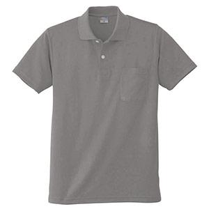 DRY 半袖ポロシャツ 9006 40 グレー 6L