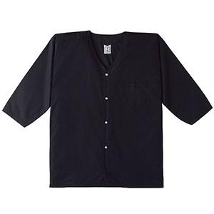鳶ウエア ダボシャツ 4621−80 ブラック