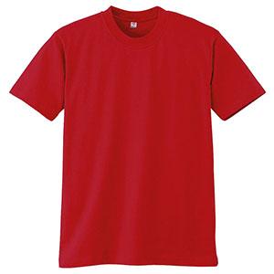 半袖Tシャツ (胸ポケット無) K3021 10 レッド
