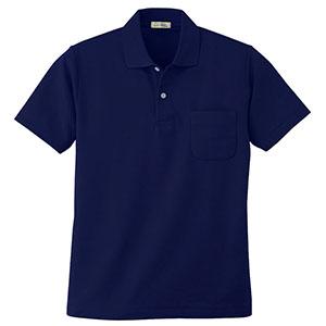 半袖ポロシャツ 4411 1 ネービー