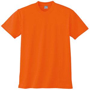 半袖Tシャツ (胸ポケット無) K9008 12 オレンジ 3S〜5L