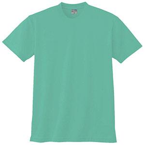 半袖Tシャツ (胸ポケット無) K9008 35 エメグリーン 3S〜5L