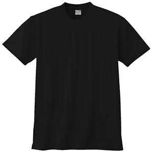 半袖Tシャツ (胸ポケット無) K9008 80 ブラック 3S〜5L