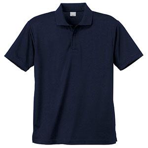 異物混入対策 DRY 半袖ポロシャツ (ネット付き) K801 1 ネービー