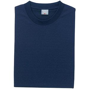 異物混入対策 半袖Tシャツ (ネット付) K803 1 ネイビー
