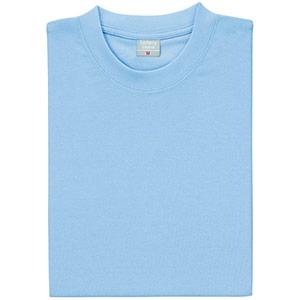 異物混入対策 半袖Tシャツ (ネット付) K803 6 サックス