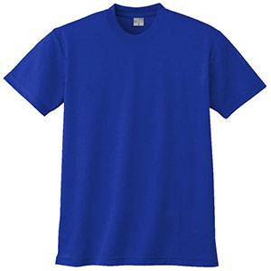 半袖Tシャツ (胸ポケット無) K9008 5 ブルー 3S〜5L