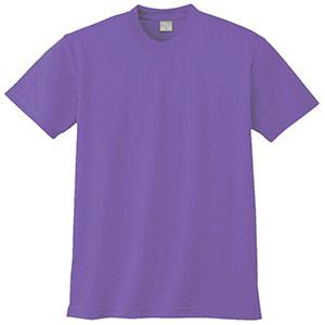 半袖Tシャツ (胸ポケット無) K9008 14 淡パープル 3S〜5L