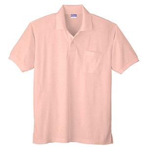 抗菌防臭 半袖ポロシャツ 590 13 ピンク
