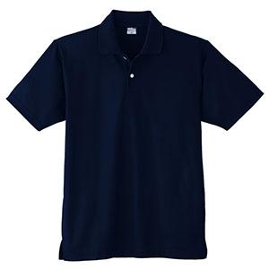 DRY 半袖ポロシャツ (ポケットなし) 9010 1 ネービー