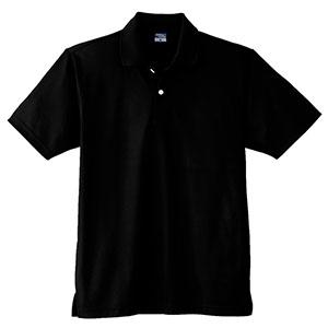 DRY 半袖ポロシャツ (ポケットなし) 9010 80 ブラック