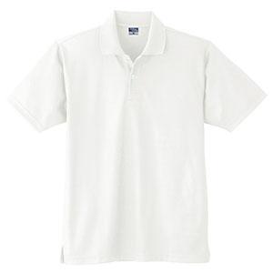 DRY 半袖ポロシャツ (ポケットなし) 9010 90 ホワイト