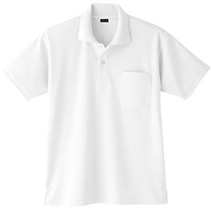 吸汗速乾 半袖ポロシャツ 6001 90 ホワイト