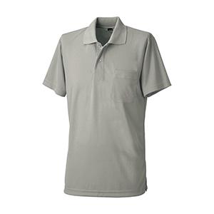 吸汗速乾 半袖ポロシャツ 6001 40 グレー