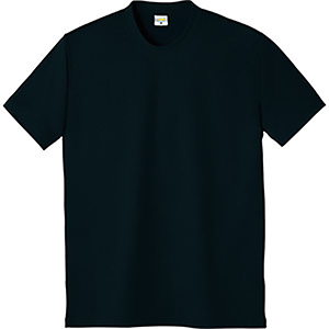 DRY 帯電防止半袖Tシャツ 8120−80 ブラック
