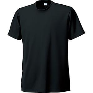 接触冷感 半袖Tシャツ 7363−80 ブラック