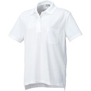 DRY レディース半袖ポロ 9004−90 ホワイト