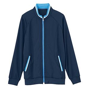 男女共用 ニットジャケット HM−2217 2 ブルーベリー 4L・5L