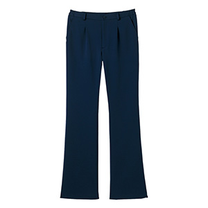 男女共用 ニットストレートパンツ HM−1785 2 ブルーベリー