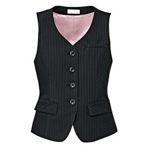 Airswing Suits ベスト EAV−645 10 ダイヤモンドブラック