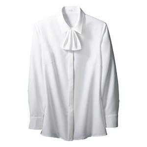 シャツブラウス(長袖) EWB−635 11 ホワイト