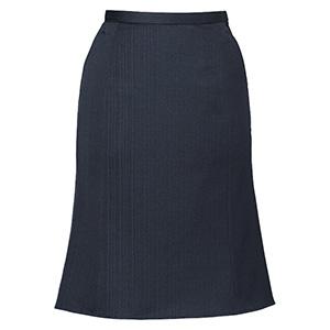 AIRFITSUITS SHADOWSTRIPE マーメイドラインスカート EAS−377 10 ミッドナイトストライプ