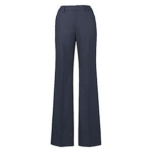 美スラッと(R) Suits パンツ EAL−478 2 ネイビーストライプ