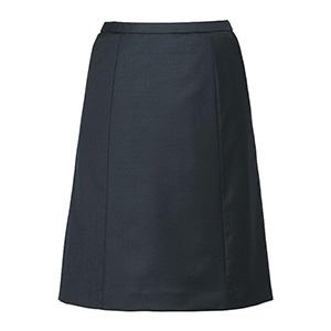 ノンストレスシリーズ Aラインスカート EAS−651 5 チャコール