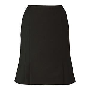 ノンストレスシリーズ マーメイドラインスカート EAS−654 10 ブラック (5〜21号)