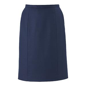 美スラッと(R)SUITS/PURE セミタイトスカート EAS−680 2 ネイビー