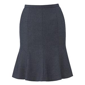 美スラッと(R)SUITS/PURE マーメイドラインスカート EAS−681 5 グレー
