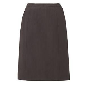 HIGH STRETCH SUITS Aラインスカート EAS−713 52 ネイビーストライプ