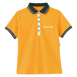 男女共用 ポロシャツ HM−2179 14 オレンジ SS〜3L