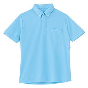 男女共用 半袖プルオーバー HM−2189 6 アクアブルー 4L・5L