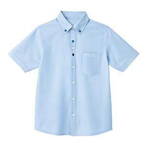 男女共用 半袖ニットシャツ HM−2419 6 空 SS〜3L