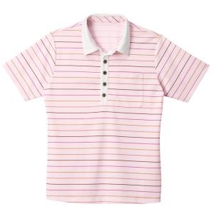 男女共用 半袖ポロシャツ HM−2429 9 さくら SS〜3L