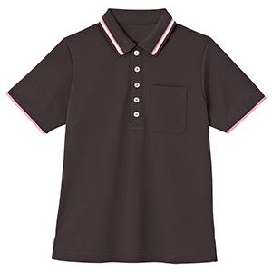 男女共用 半袖ポロシャツ HM−2439 3 大地 4L・5L