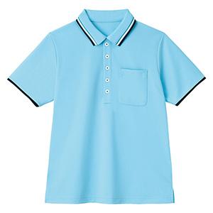 男女共用 半袖ポロシャツ HM−2439 6 空 SS〜3L