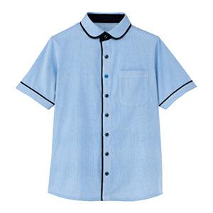 男女共用 半袖ニットシャツ HM−2659 6 青空 (SS〜3L)