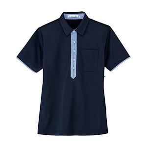 男女共用 半袖ポロシャツ HM−2819 2 夜空 SS〜3L