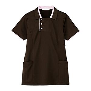 男女共用 半袖ロングポロシャツ HM−2829 3 大地 4L・5L