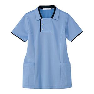 男女共用 半袖ロングポロシャツ HM−2829 6 空 SS〜3L