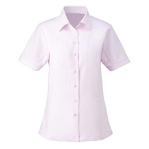 シャツブラウス (半袖) ESB−405 9 ピンク