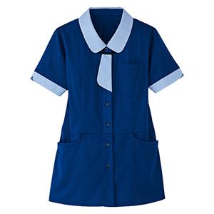 レディース 半袖ロングニットシャツ HL−2639 6 海
