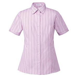 シャツブラウス(半袖) ESB−599 9 ピンク