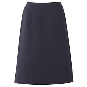 Feminine Line (ノンストレスシリーズ) Aラインスカート ESS−666 2 ネイビー