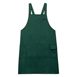 男女共用 エプロン CAE−005 4 ダークグリーン
