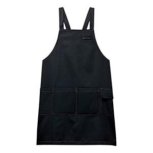 男女共用 エプロン CAE−005 10 ブラック